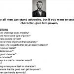 Lincoln, Power, and the Question Formulation Technique (QFT)