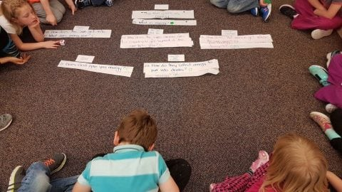 """How does the sun's power get into you?"" Using the QFT to Explore Energy with First Graders"