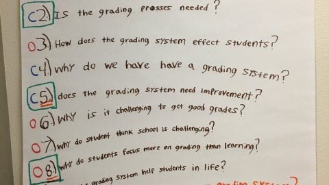 """Is the grading process needed?"" Community College Students Question the Role of Grades"