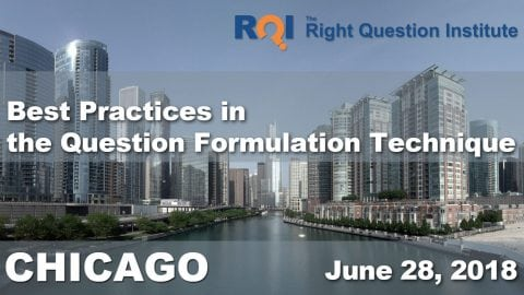2018 Midwest Seminar on Best Practices in the Question Formulation Technique