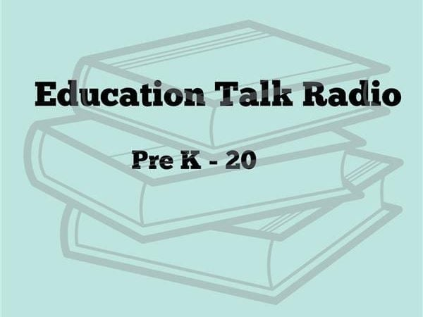 The logo of Education Talk Radio