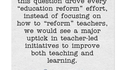 Response: Dos & Don'ts of Implementing New Ideas in Education