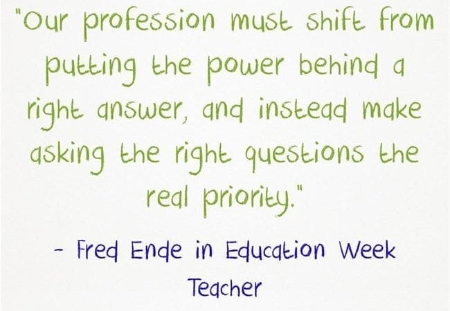 An image that shows a quote by Dan Rothstein pulled from the Education Week article.
