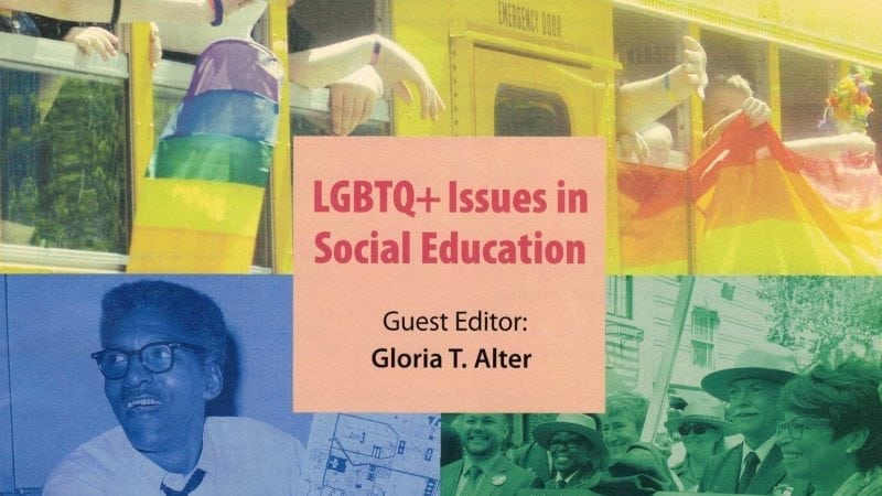 The cover of the Social Education publication.