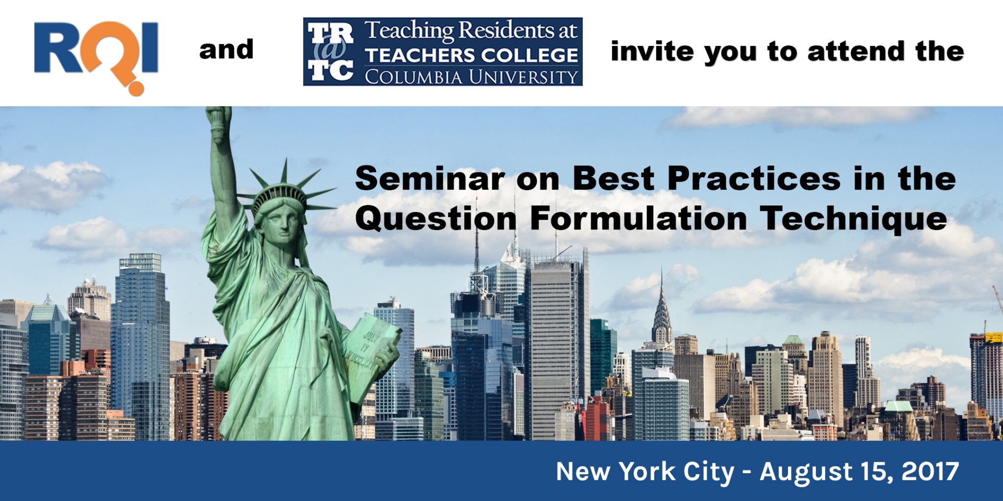 Best Practices in the Question Formulation Technique hosted