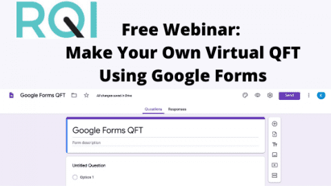 Free Webinar: Make Your Own Virtual QFT Using Google Forms
