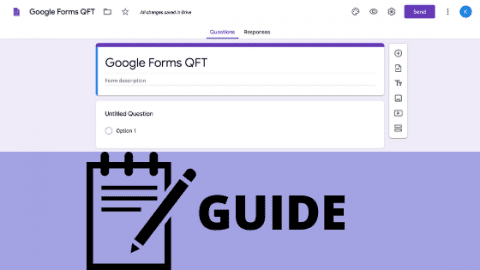 Guide: Make Your Own QFT with Google Forms