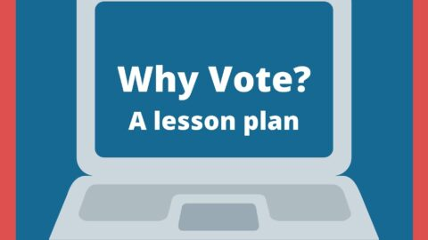 Lesson plan about voting: Students become 'voter facilitators' in real life