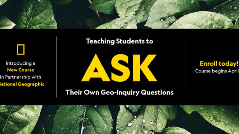 Teaching Students to ASK Their Own Geo-Inquiry Questions