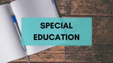 The QFT in Special Education: A Collection of Classroom Examples